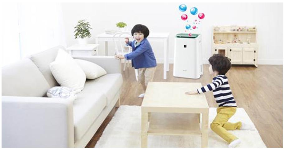 Hãy để trẻ em vui đùa trong không gian sạch