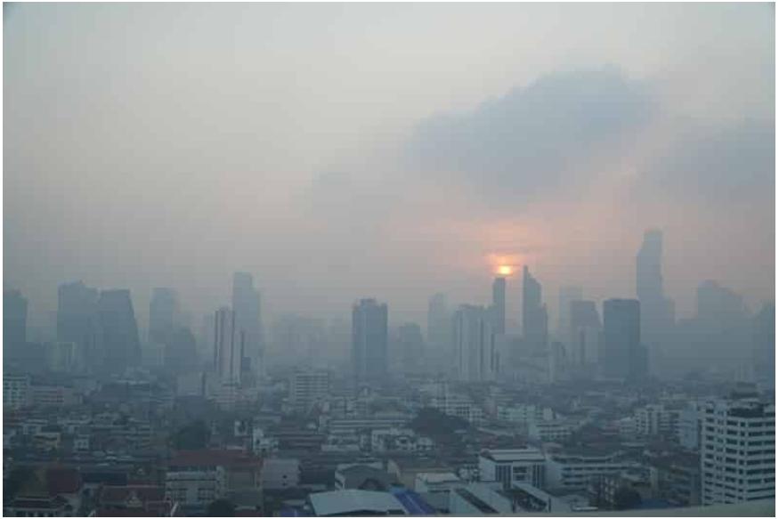 Không khí bẩn sẽ ảnh hưởng đến hiệu quả thiền