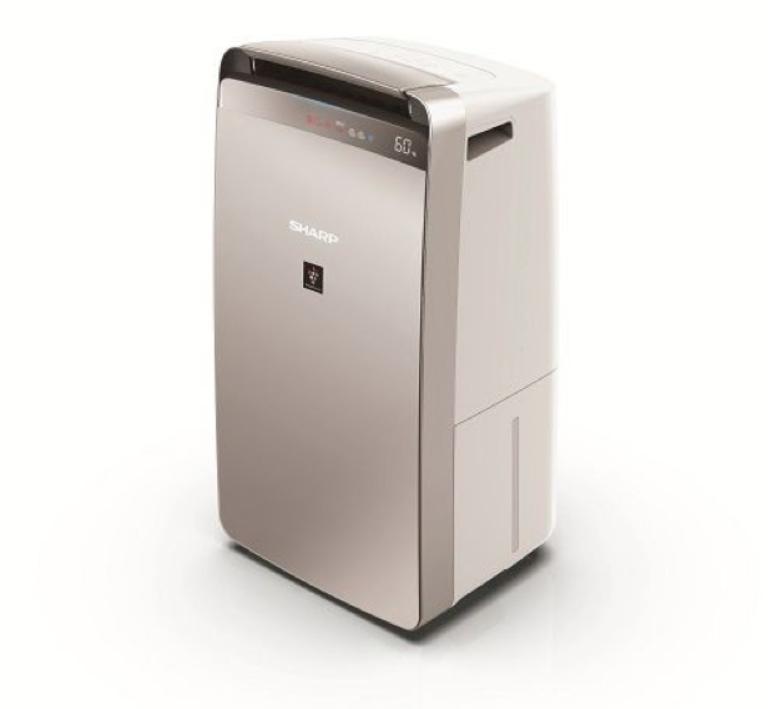 Mẫu máy lọc không khí hút ẩm sử dụng công nghệ Plasmacluster Ion của thương hiệu Sharp