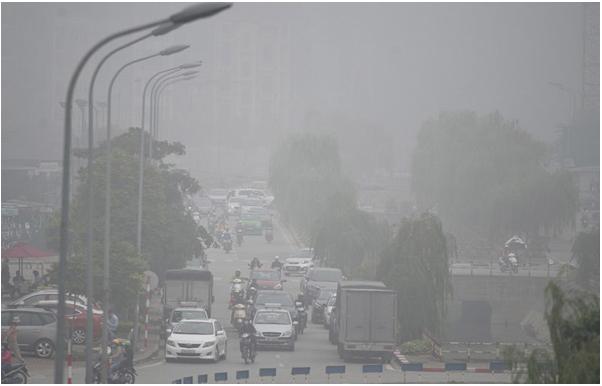 Ô nhiễm không khí ngày càng tăng